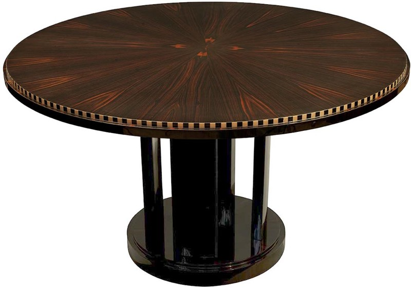 Tasm 12a dpg table ronde soleil pi tement rond for Table ronde a manger